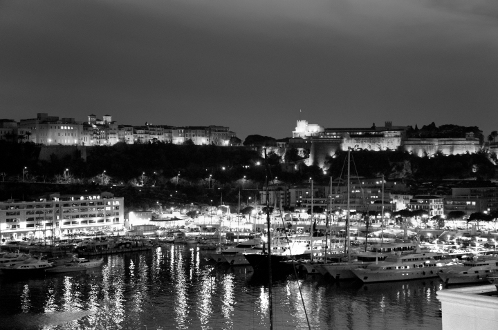 black and white monaco palace and bay.jpg